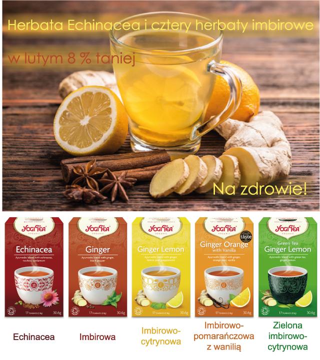 herbaty YOGI TEA w promocji